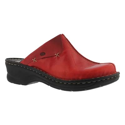 Lds Catalonia hibiscus low wedge clog
