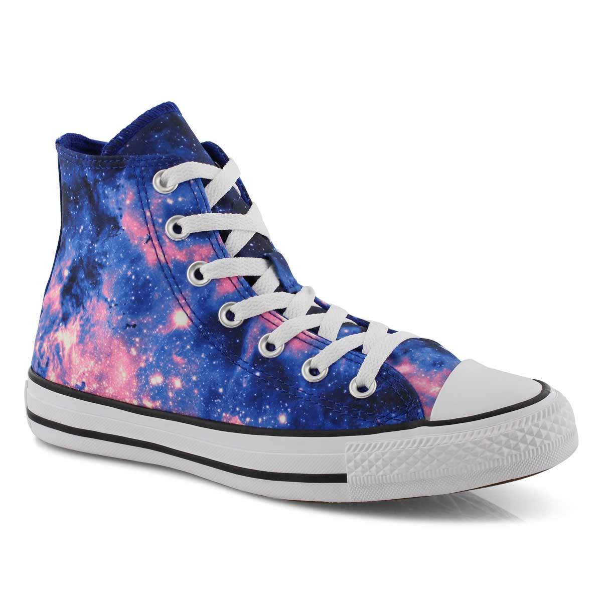 Women\u0027s CTAS MISS GALAXY hi blue/pink sneaker