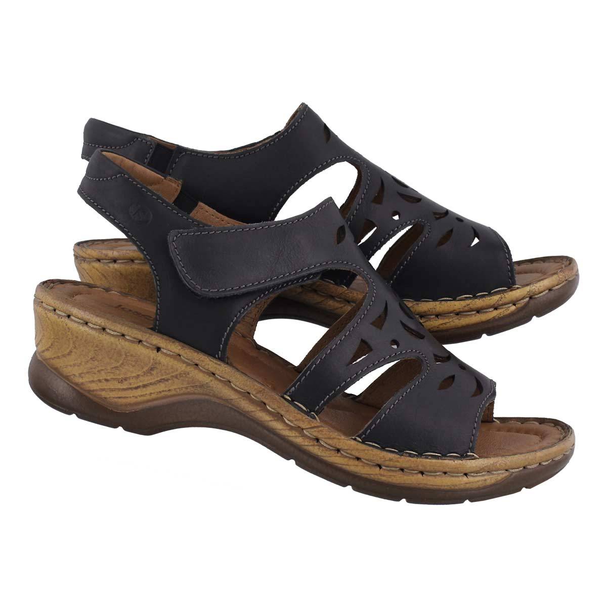 Lds Catalonia 56 black sandal