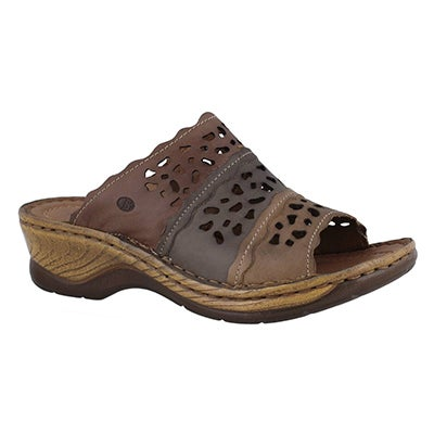 Lds Catalonia 60 brown mlti sandal