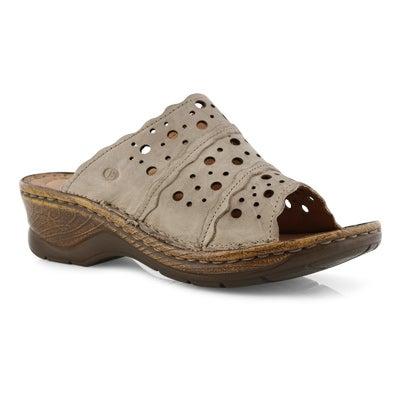 Lds Catalonia 43 creme slide sandal
