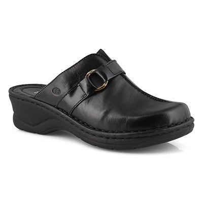 Lds Catalonia 57 black wedge clog