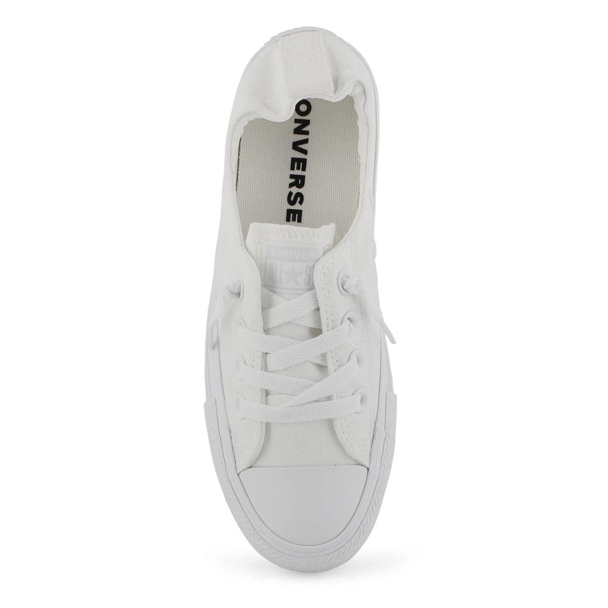 Lds CTAS Shoreline white mono sneaker