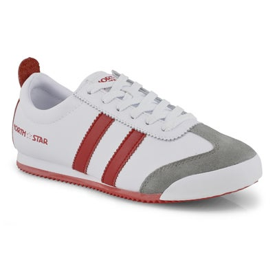Lds North Star One white/red sneaker