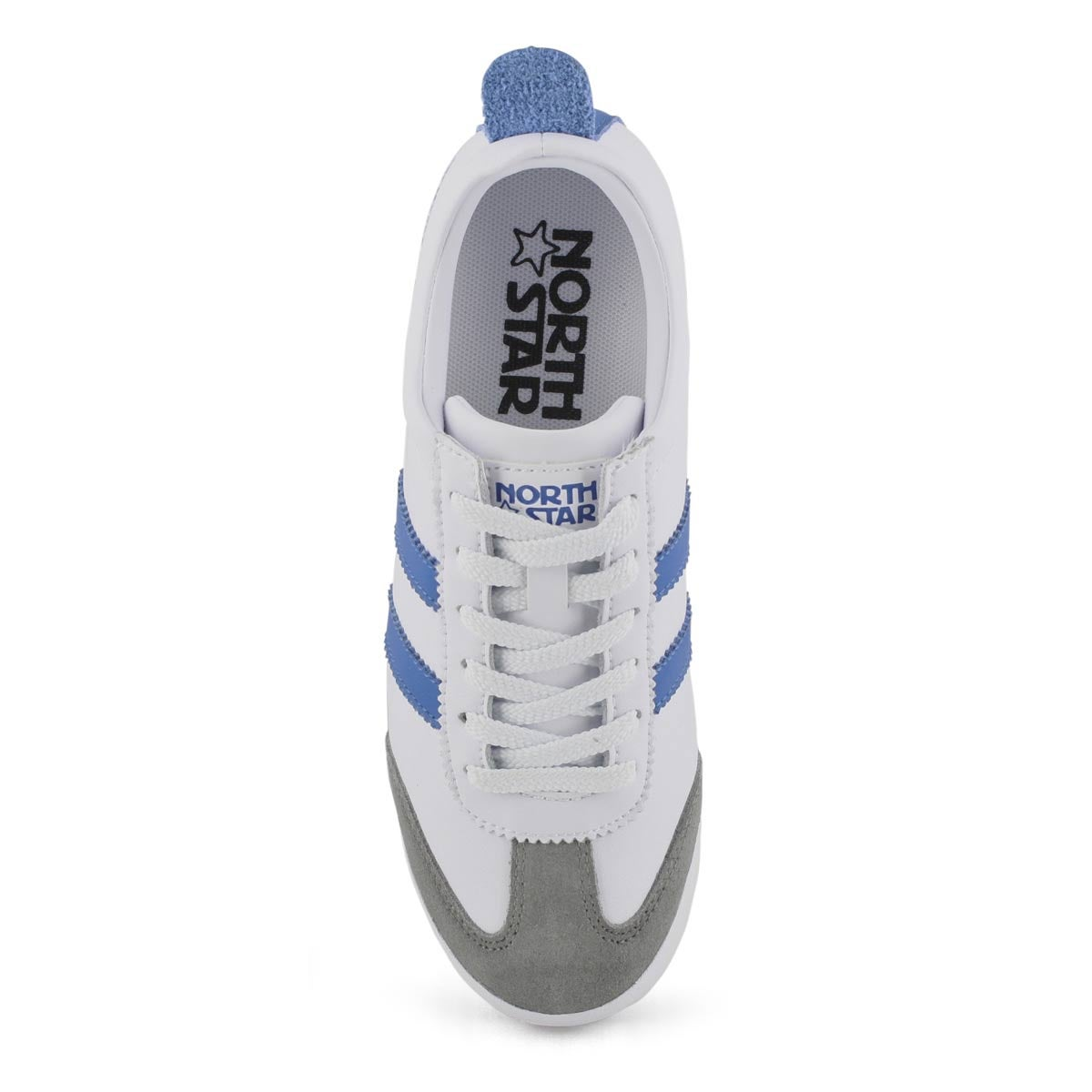 Lds North Star One white/ryl blu sneaker