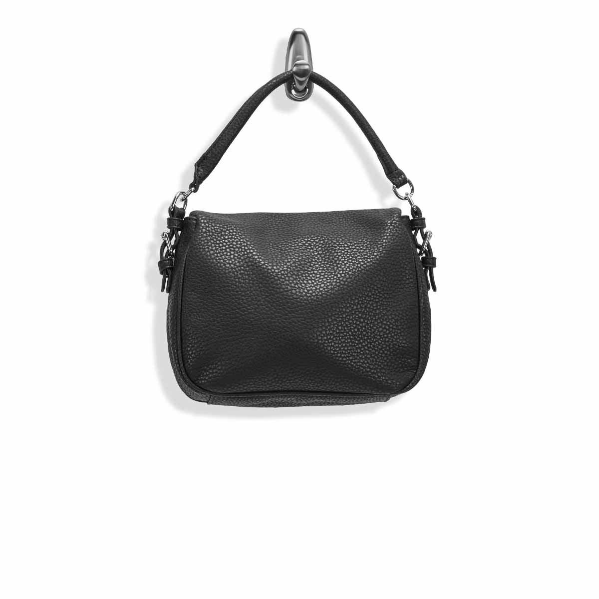 Lds Sasha black hobo crossbody bag