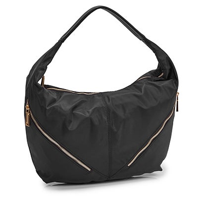 Co-Lab Women's JESSIE black slouchy hobo bag