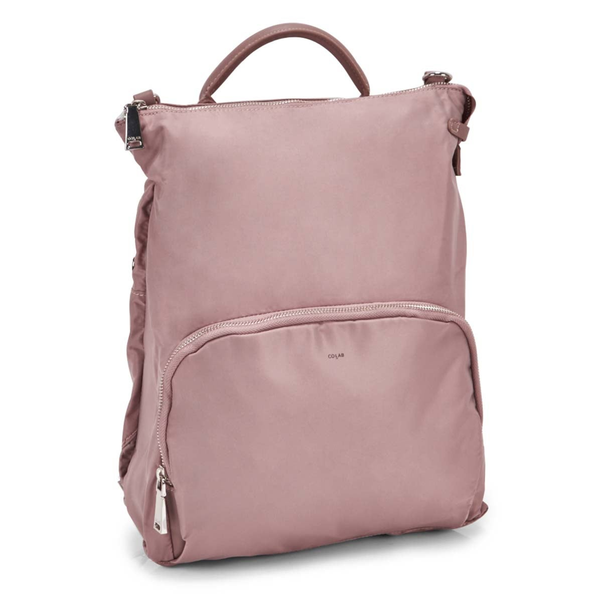 Women's NELLIE dusty mauve convertible backpack