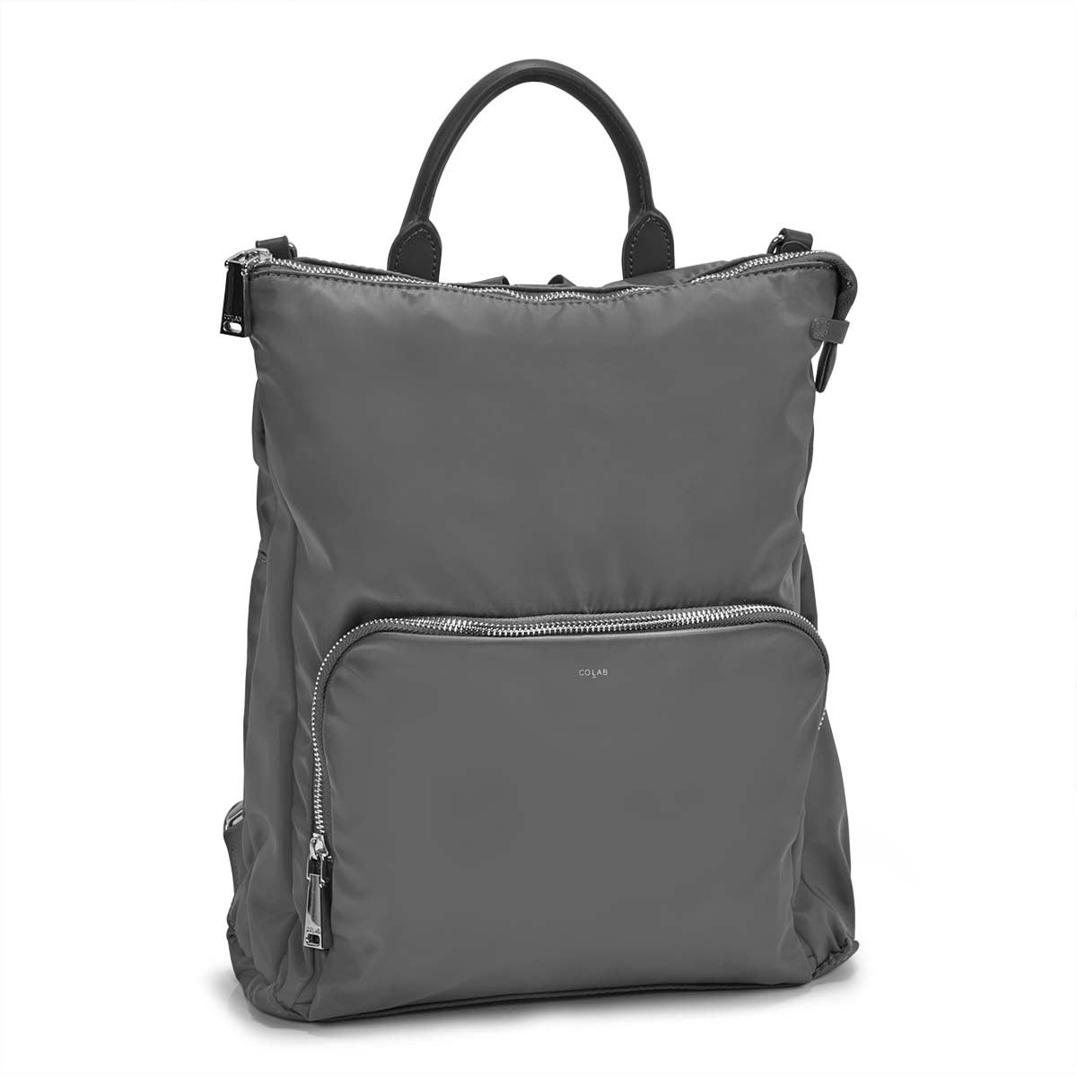 Women's NELLIE grey convertible backpack