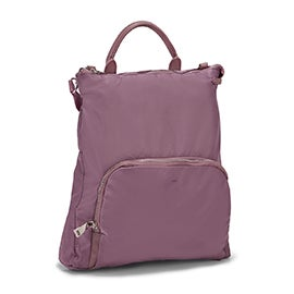Lds Nellie mauve convertible backpack