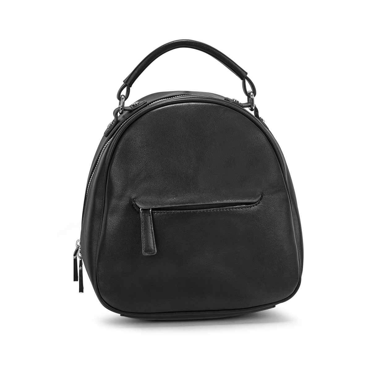 Women's MATTIE black dome backpack