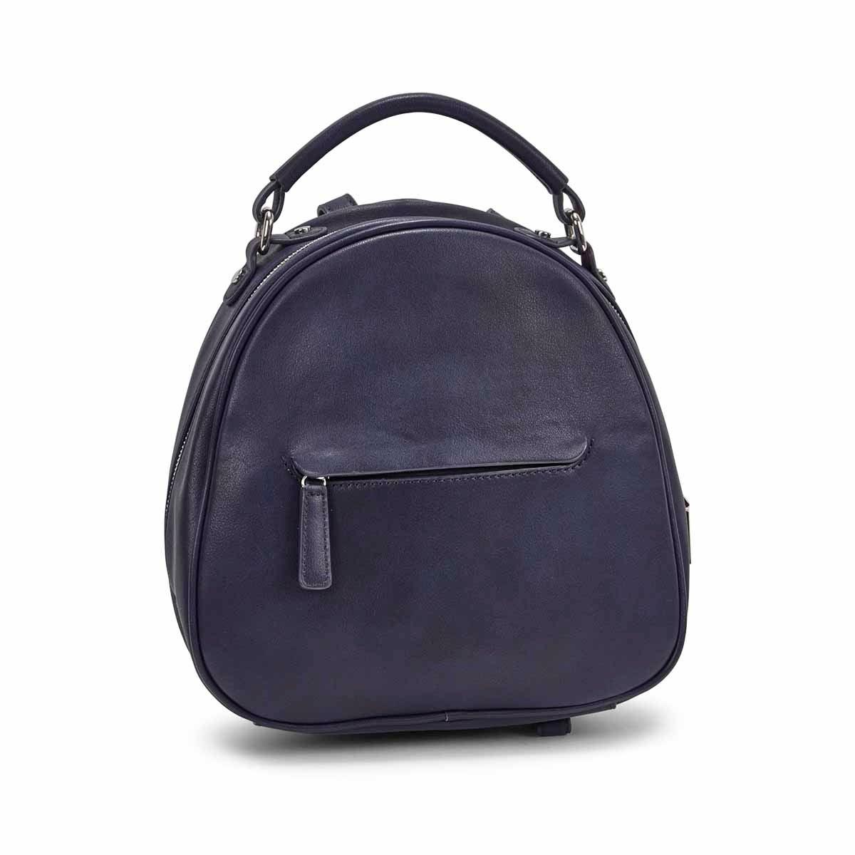 Women's MATTIE ink blue dome backpack