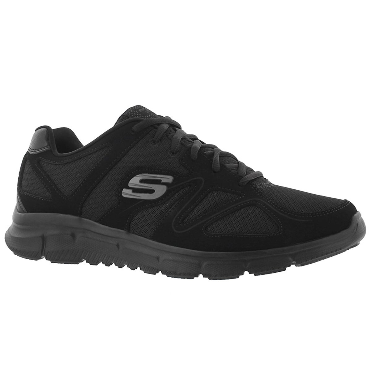 Mens VERSE- FLASH POINT black running shoe