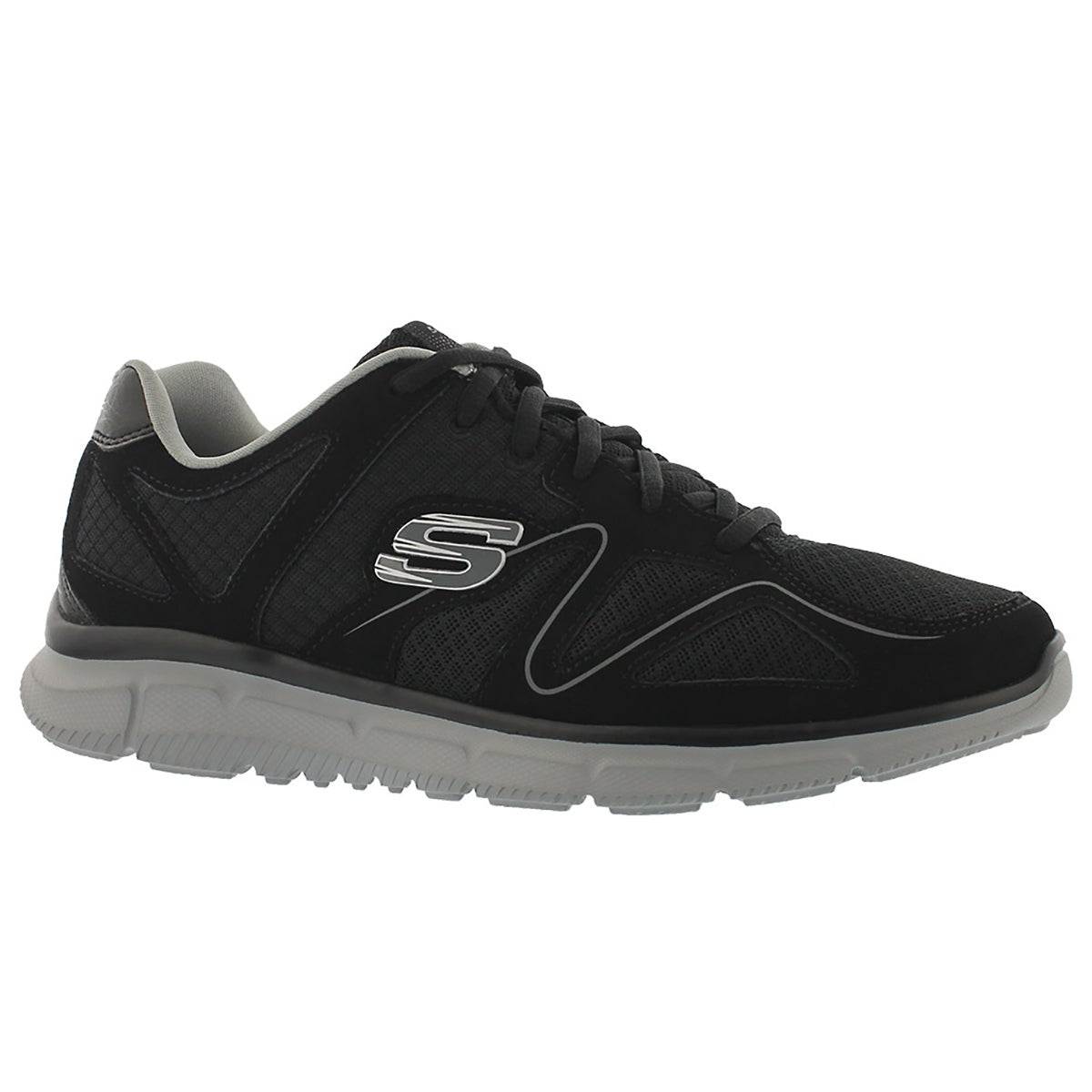 Mens VERSE- FLASH POINT blk/gry running shoe