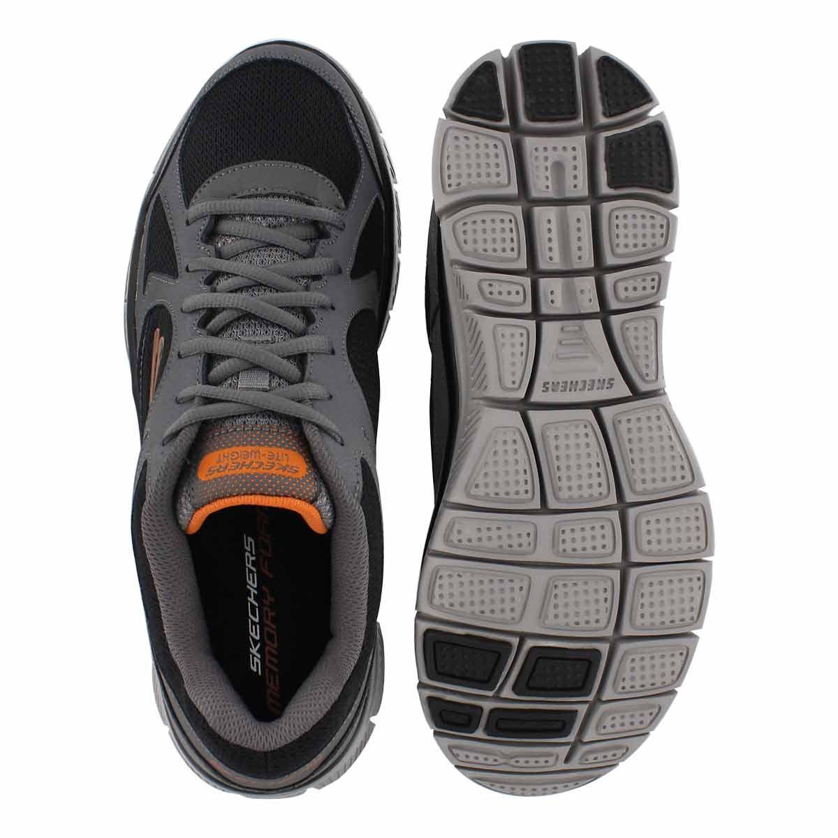 Mns Flex Advantage Zizzo gry/blk sneaker