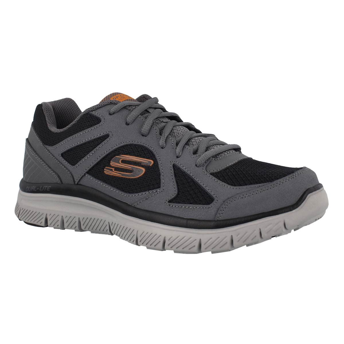 Men's FLEX ADVANTAGE ZIZZO grey/black sneakers