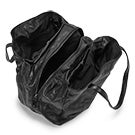 Lds Madison blk 3 compartment tote bag