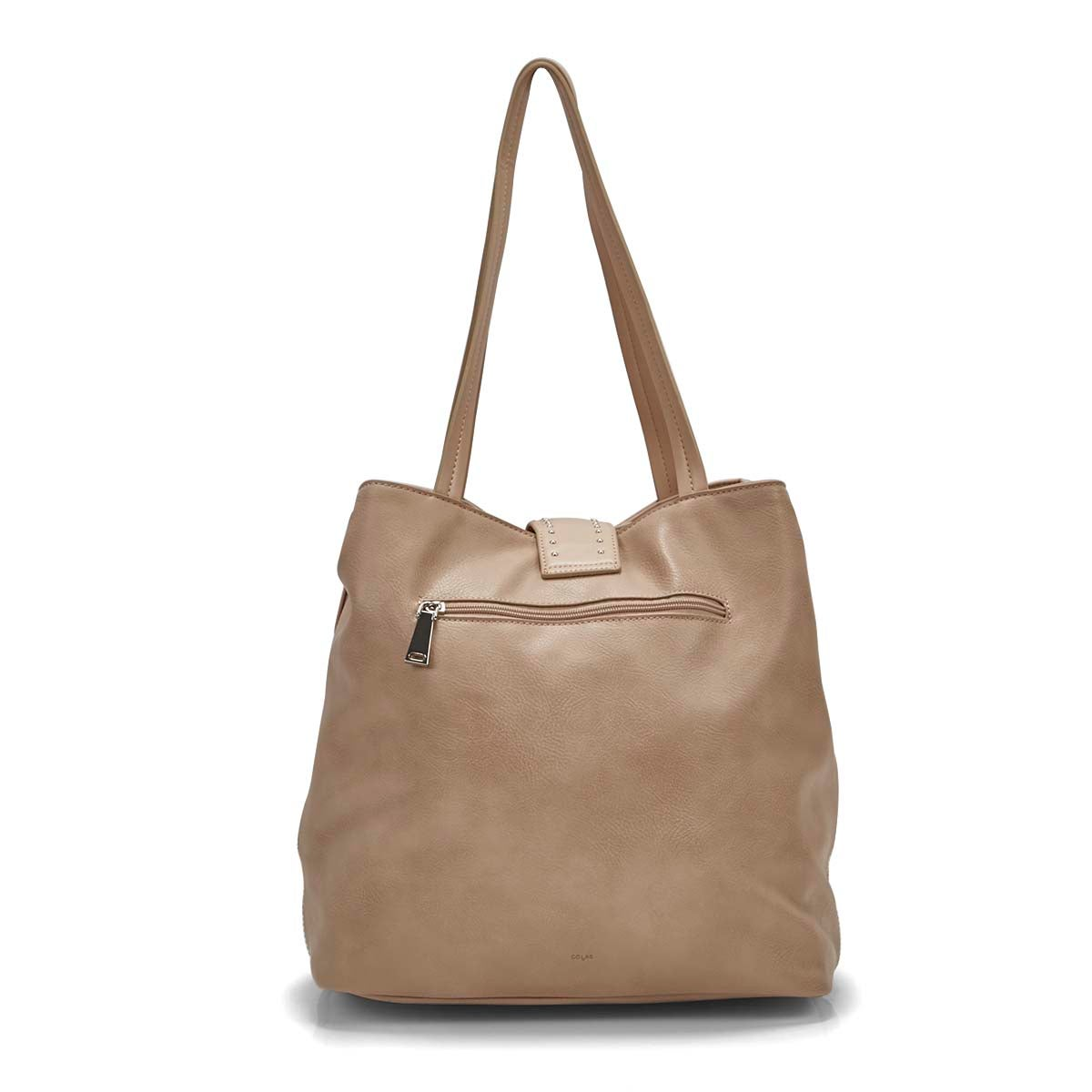 Lds Daisy baked blush tote bag