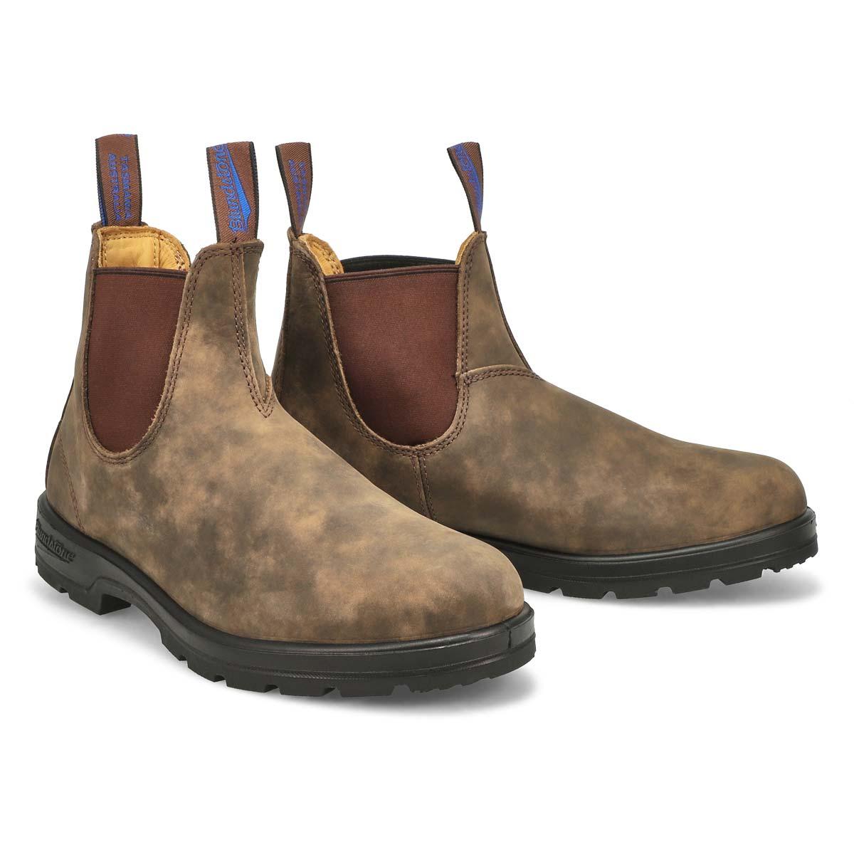 Bottes imp. doublées Original, brun, uni