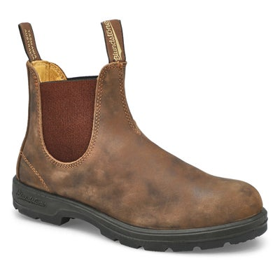 Unisex Original rustic brn pull on boot