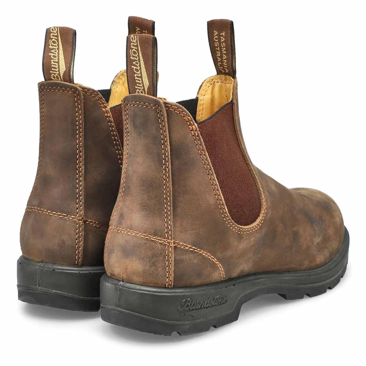 Unisex Original rustic brn pull on boot