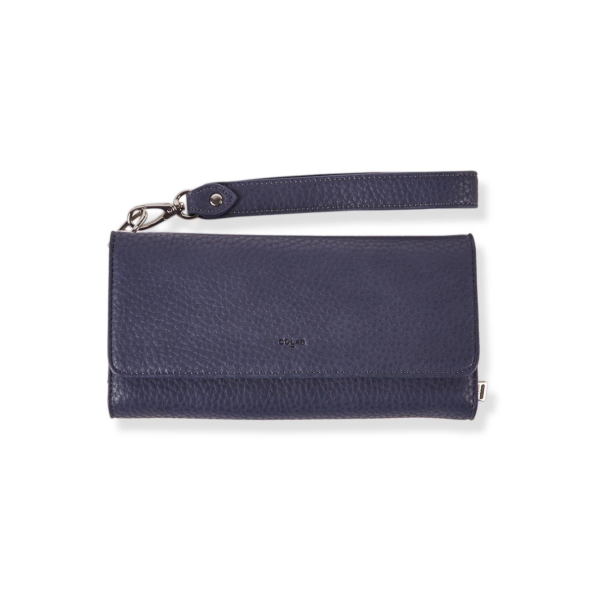 Lds Beth denim detachable strap wristlet