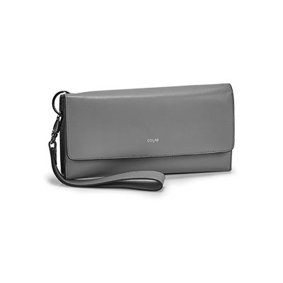 Co-Lab Women's BETH grey wristlet