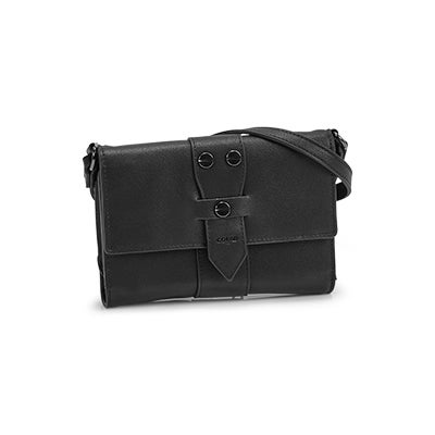 Co-Lab Women's LEAH black crossbody organizer
