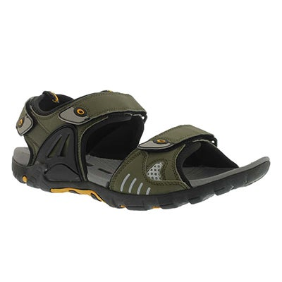 SoftMoc Men's LEX Sport olive sport sandals