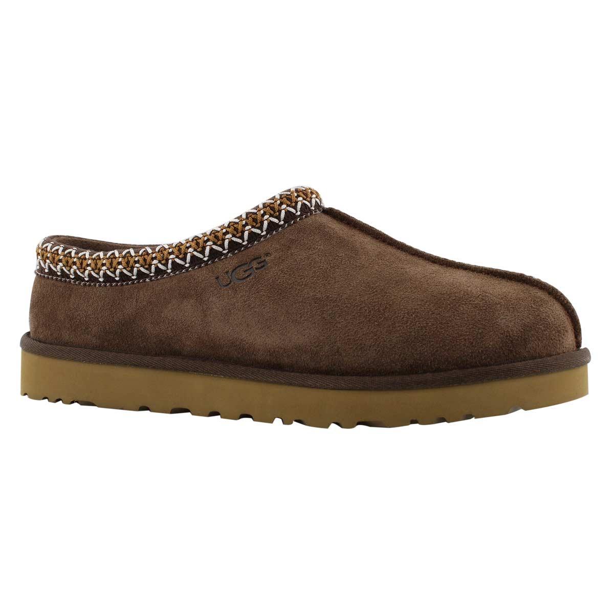 Mns Tasman chocolate sheepskin slipper