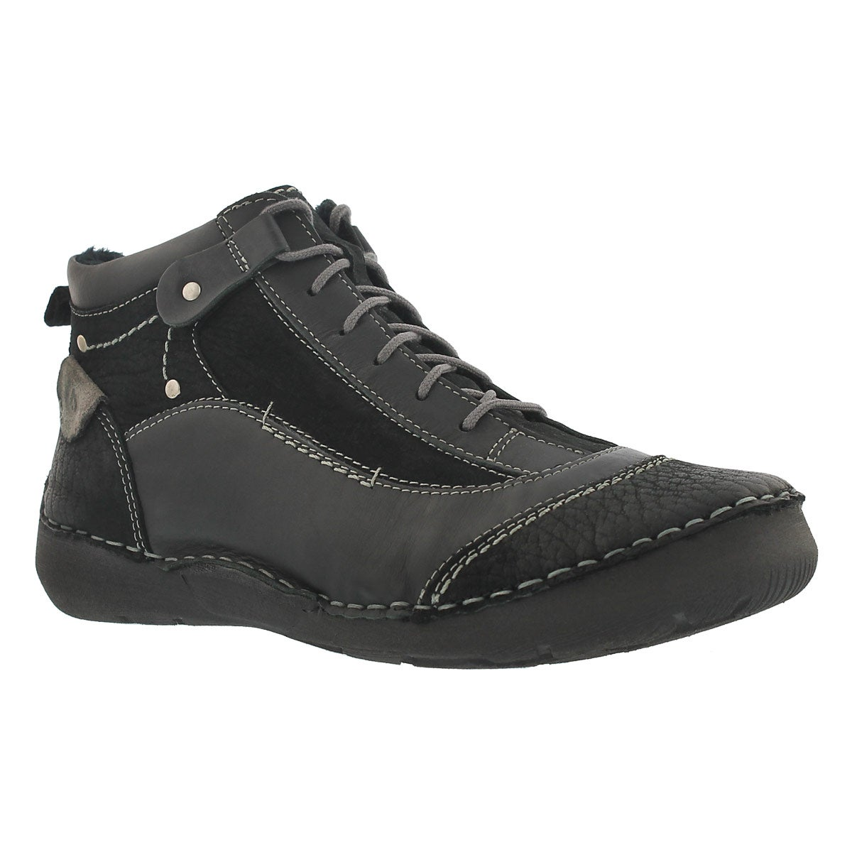 Lds Fergy 04 black ankle boot