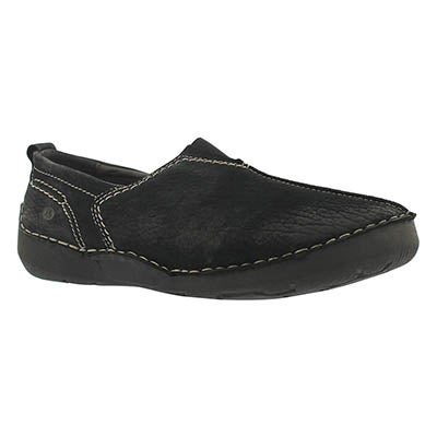 Josef Seibel Women's FERGEY 12 black slip on casual shoes