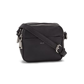 Lds MALIBU Camera blk crossbody bag