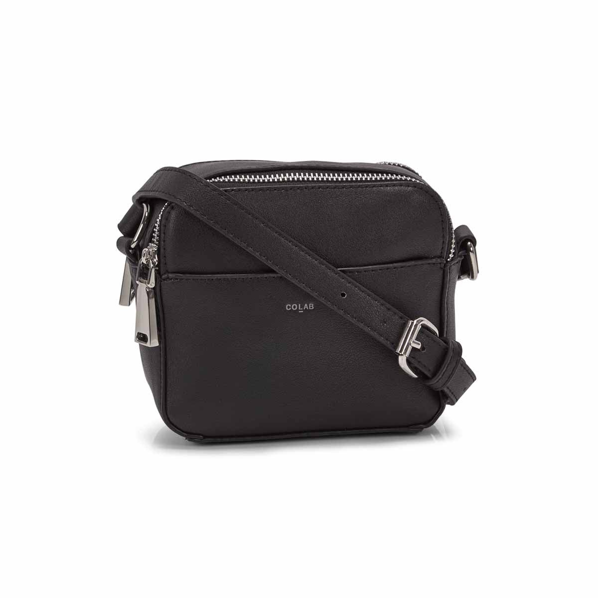 Women's MALIBU CAMERA black crossbody bag