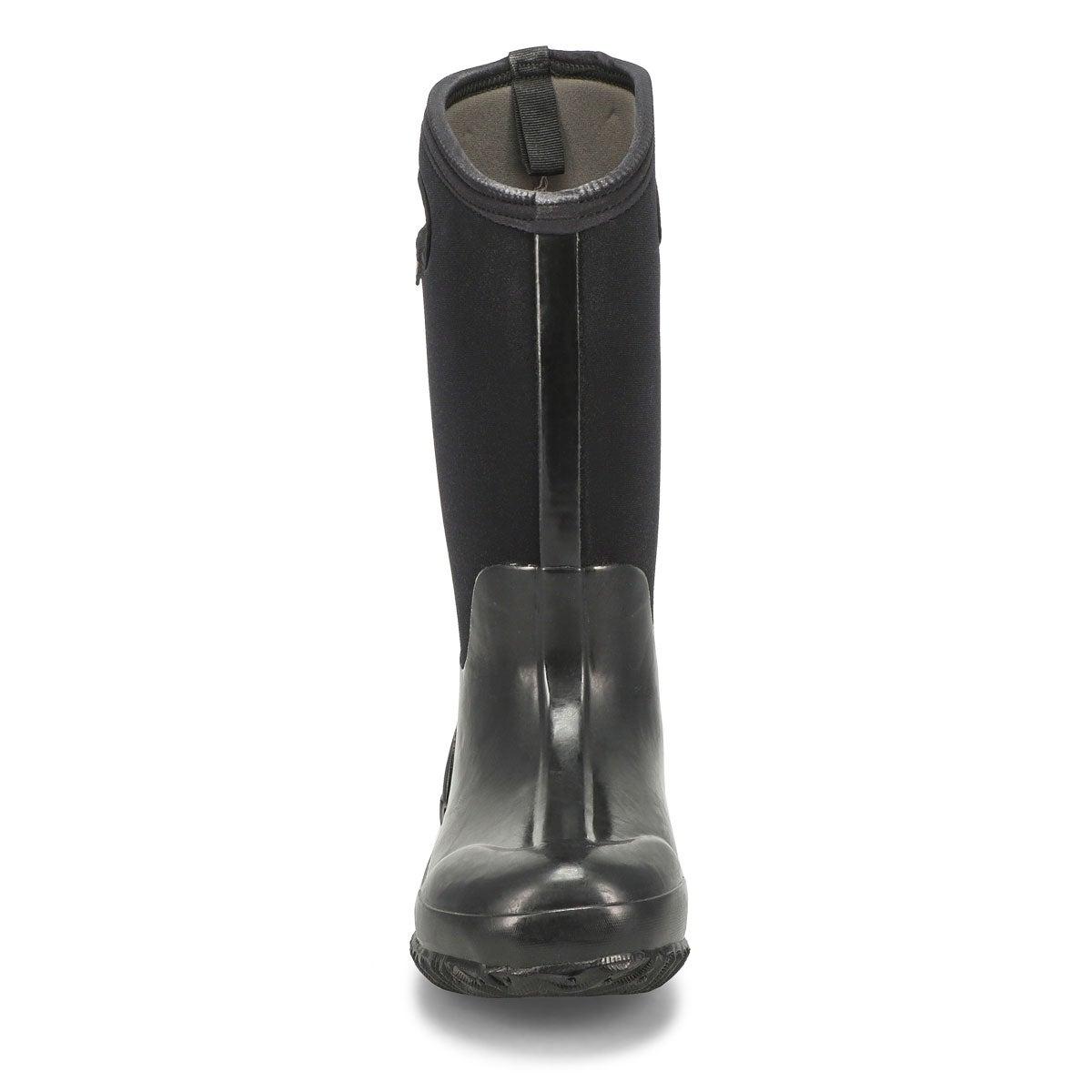 Lds Classic High black shiny wtrpf boot