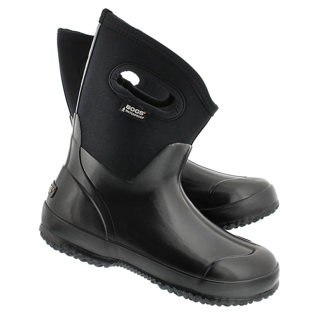 Lds Classic Mid black shiny wtpf boot