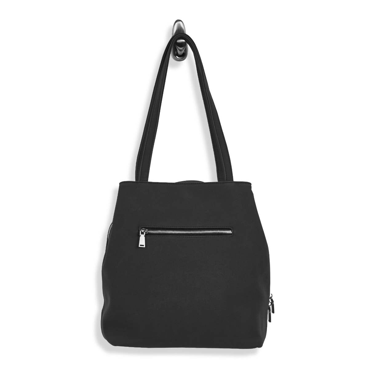 Lds SOHO Triple Compartment blk satchel