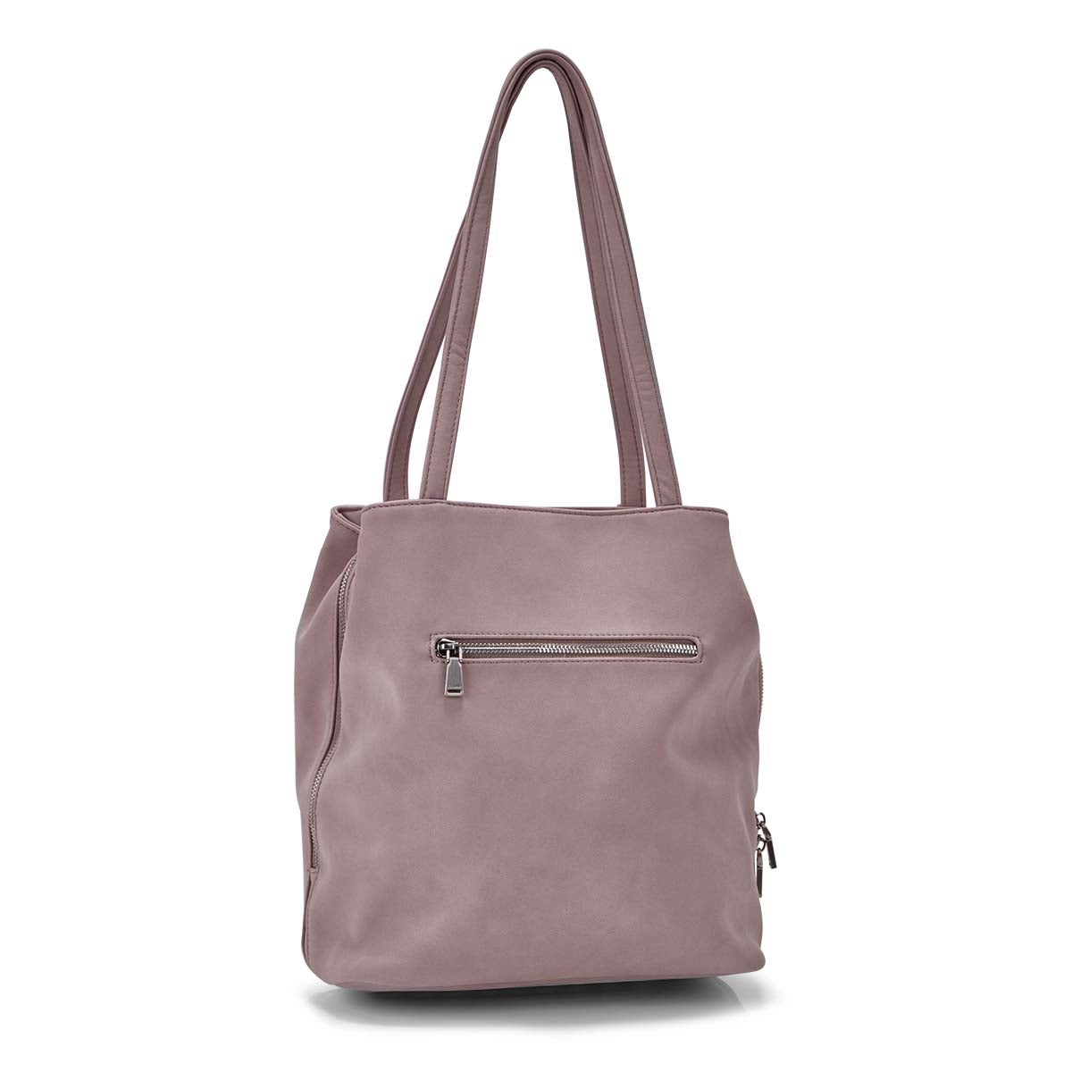 Women's SOHO dusty lavender satchel