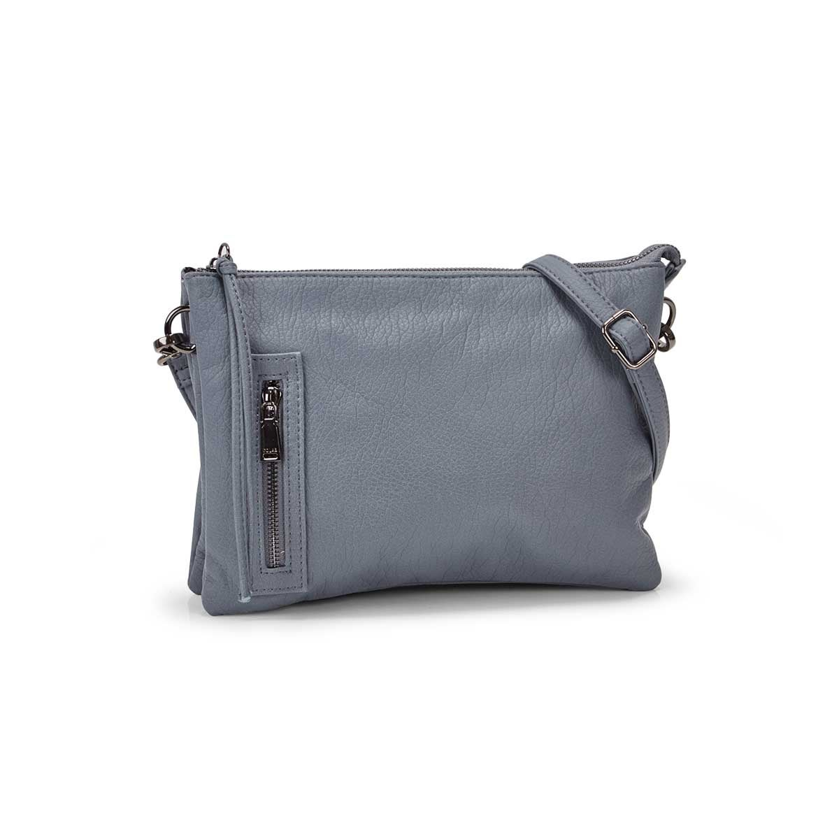 Women's LOFT FLAT shark crossbody bag