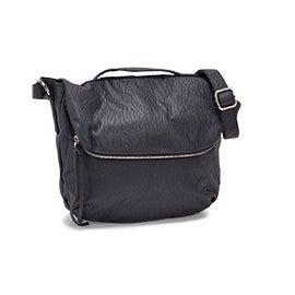 Lds blueberry crossbody messenger bag