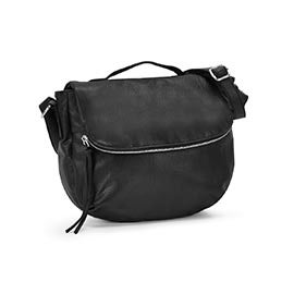Co-Lab Women's 6023 black crossbody messenger bag