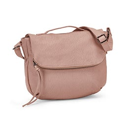 Co-Lab Women's 6023 cotton candy crossbody messenger bag