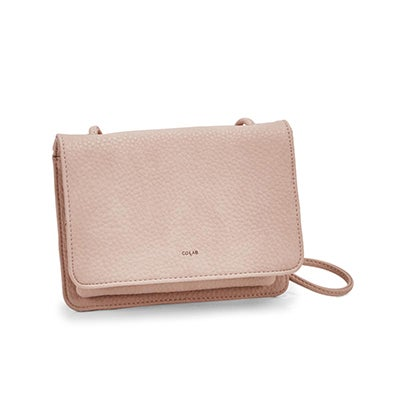 Co-Lab Women's SYDNEY organizer blush cross body bag
