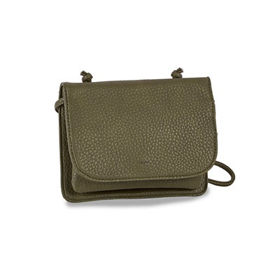 Co-Lab Women`s SYDNEY ORGANIZER leaf crossbody bag