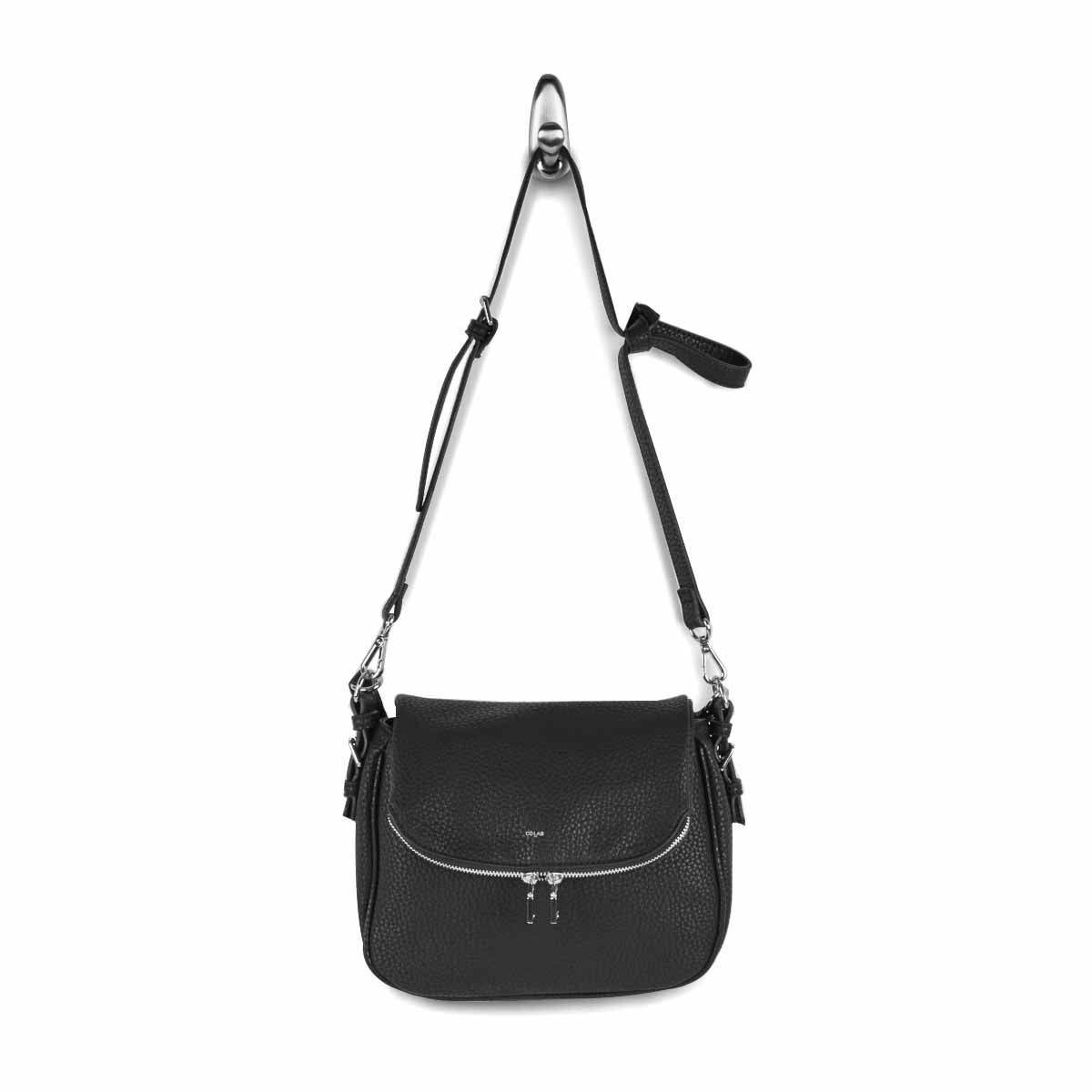 Lds Sydney Handle blk crossbody bag