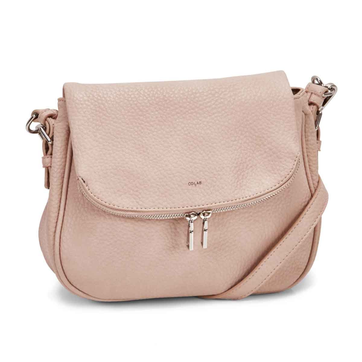Women's SYDNEY blush cross body bag