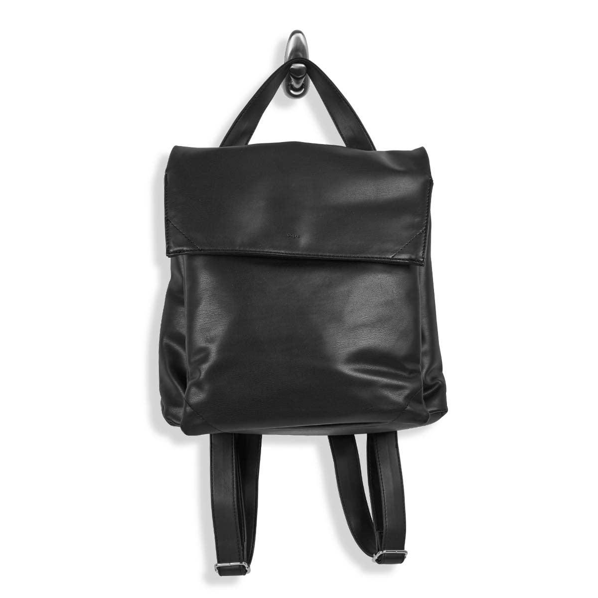 Lds Harlow Flap black backpack