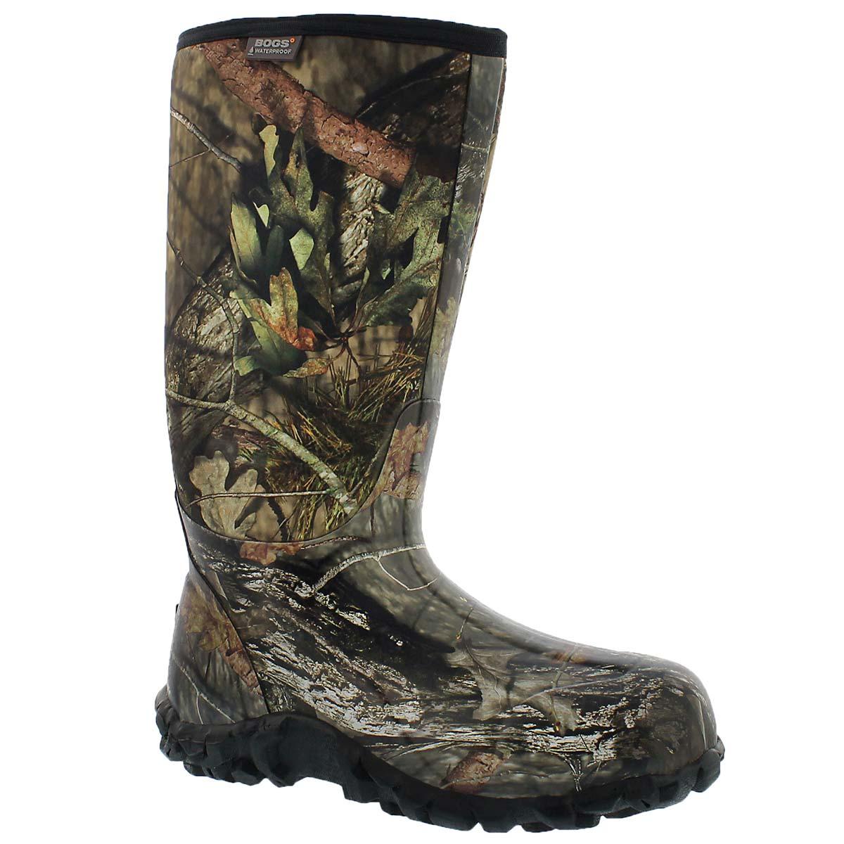 Men's CLASSIC HIGH MOSSY OAK waterproof boots