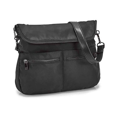Co-Lab Women's CHELSEA MESSENGER black cross body bag