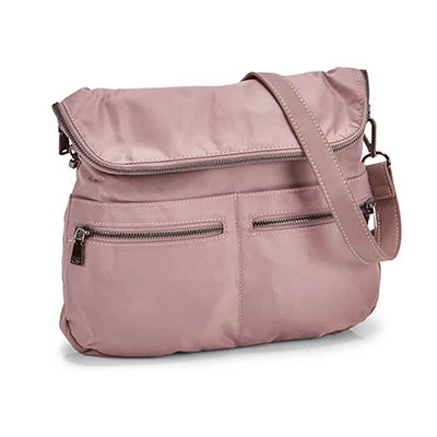 Co-Lab Women's CHELSEA MESSANGER dusty mauve crossbody